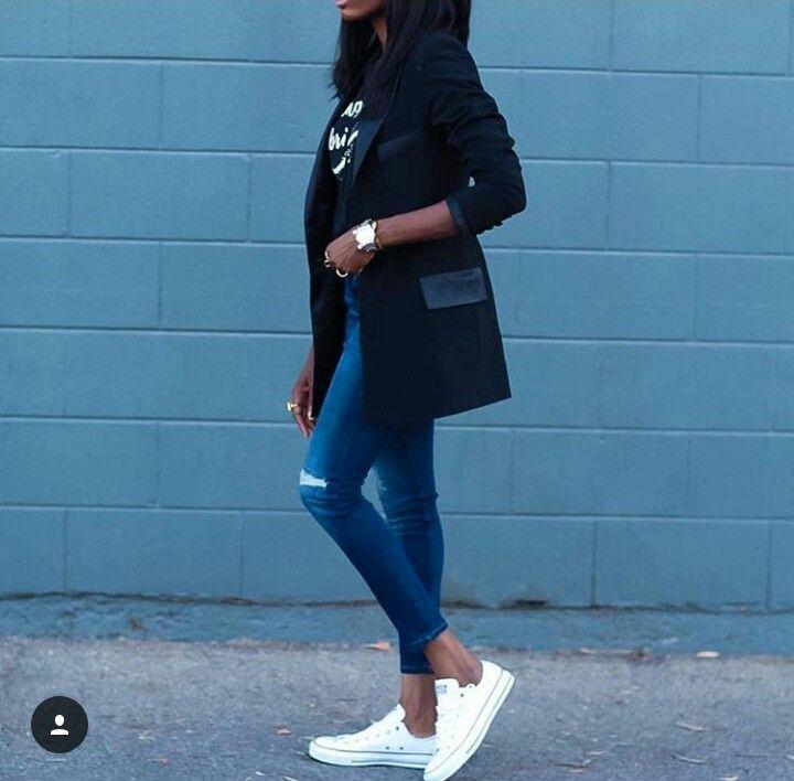 Converse. Street style