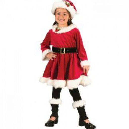 Girls Santa Dresses