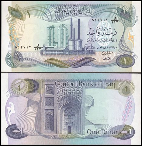 Stronger Cash Coin Iraq Has Ever Known Throughout Its History That The Iraqi Dinar Issued In 1973 Which Was Equivalent To 3 377 Against Us Dollar