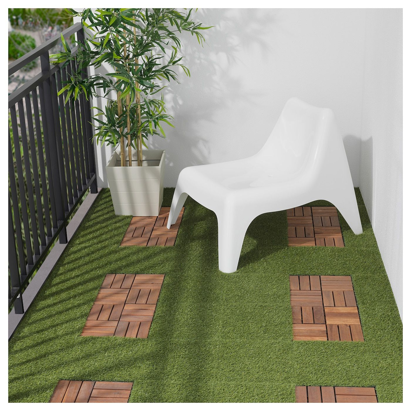 RUNNEN Decking, Outdoor - Artificial Grass
