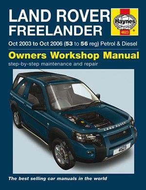 03 2003 Land Rover Freelander owners manual