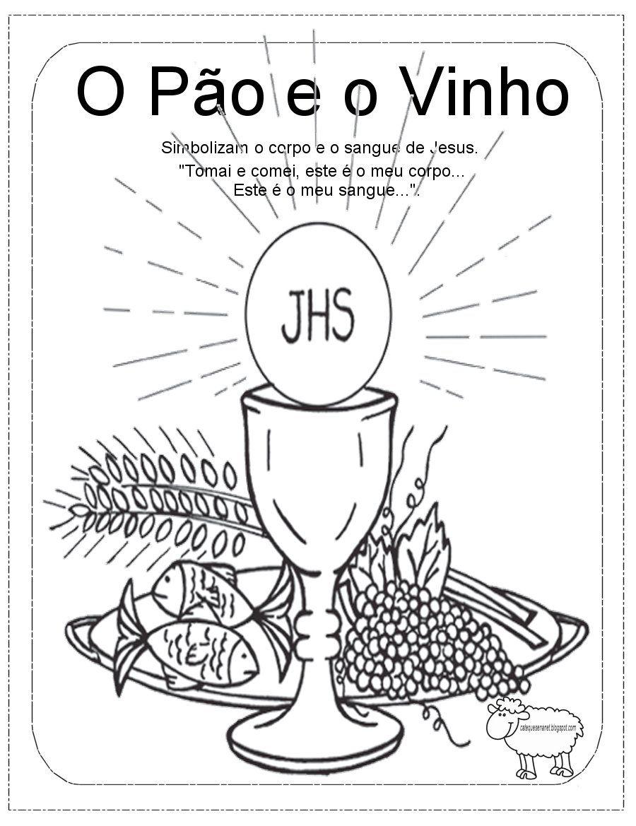 Simbolos Da Pascoa Atividade Para Catequese Catequese