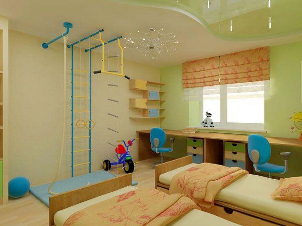 Children Bedroom With Best False Ceiling Designs Cuteness