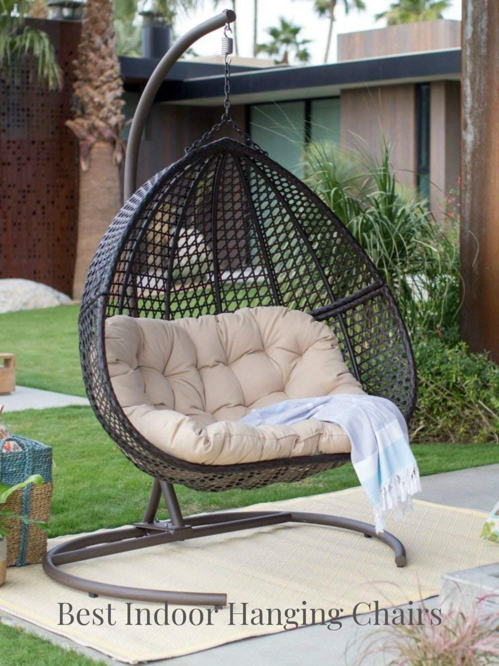 Best Indoor Hanging Chairs In 2020 Hanging Egg Chair Patio Furnishings Patio Furniture Makeover