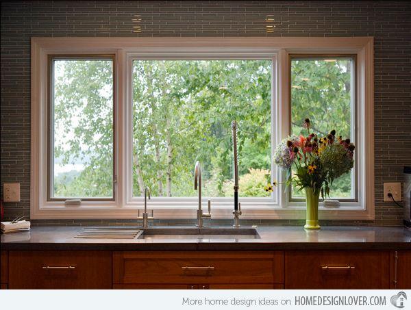 Hoy vamos a mostrar una lista de ventanas de cocinas for Ventanas de aluminio con marco de madera