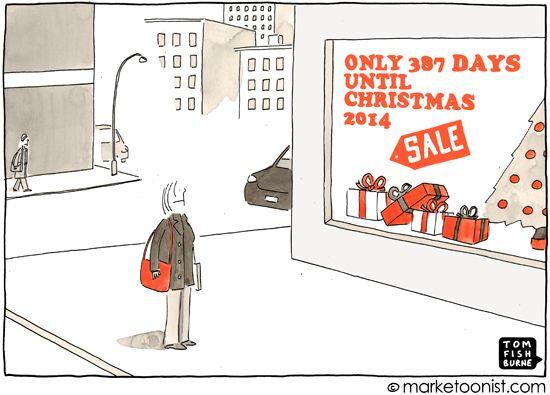 Christmas Creep #cartoon