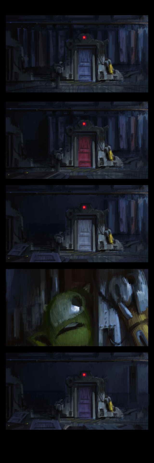 Tumblr  Concept Art    Color Script Storyboard And