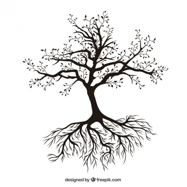 Download Tree With Roots For Free Tree Tattoo Vector Free Tree Tattoo Designs