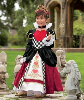 queen of hearts girls costume - This regal girls costume will - halloween girl costume ideas