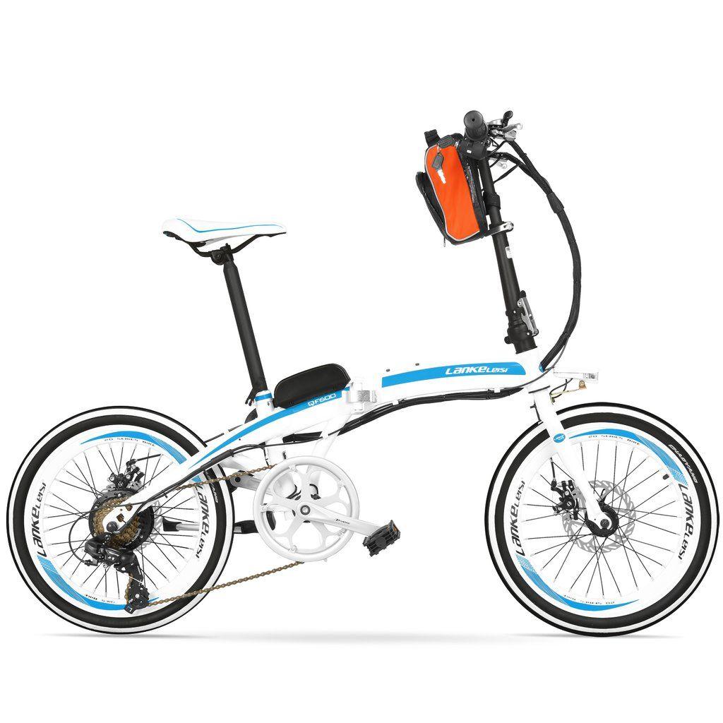 Foldable 20 Inch External Battery City Electric Bike Qf600 Os