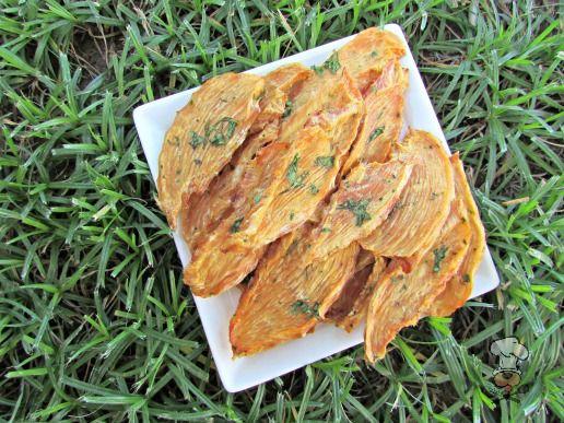 basil cantaloupe chicken jerky dog treat recipe