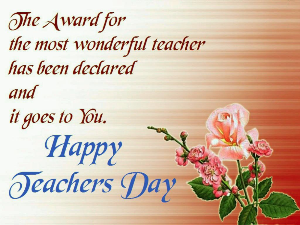 Happy Teachers Day Quotes Wishes Message Thought 6 In 2020 Happy Teachers Day Card Teachers Day Wishes Happy Teachers Day Wishes
