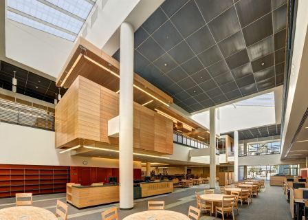 Los Angeles Valley College Library And Academic Resource Center San Fernando Valley Ca Host To More Than 130 Building Design College Library Valley College