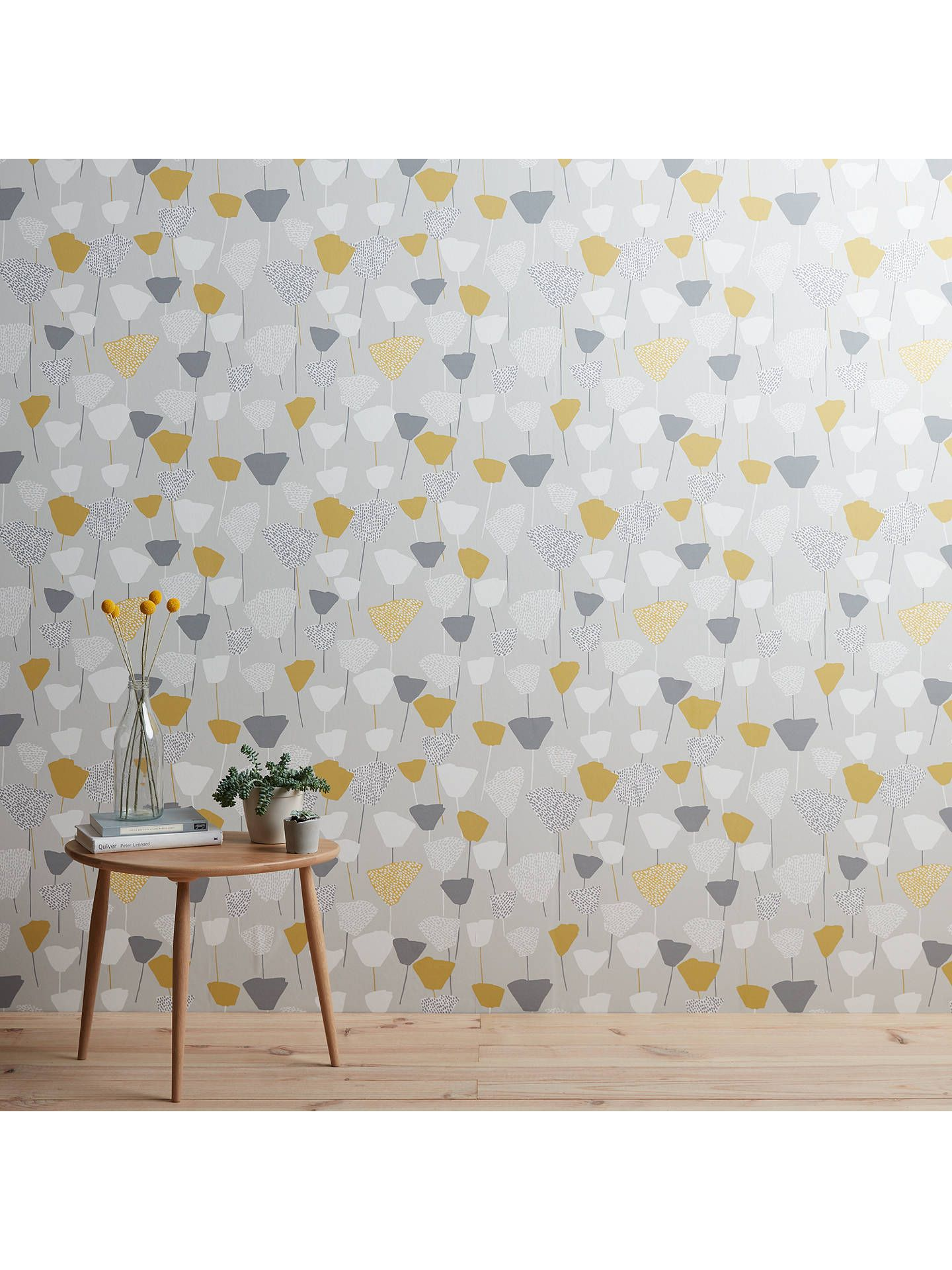 John Lewis Partners Elin Wallpaper Mineral Dining