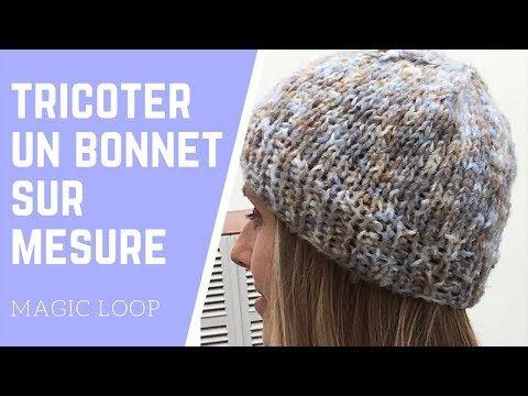 tricoter un bonnet sur mesure