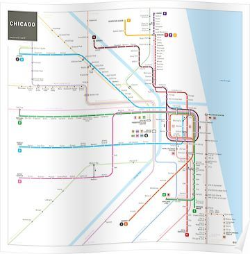 Subway Map Tapestry.Chicago Subway Map Poster Products Chicago Map Subway Map Map