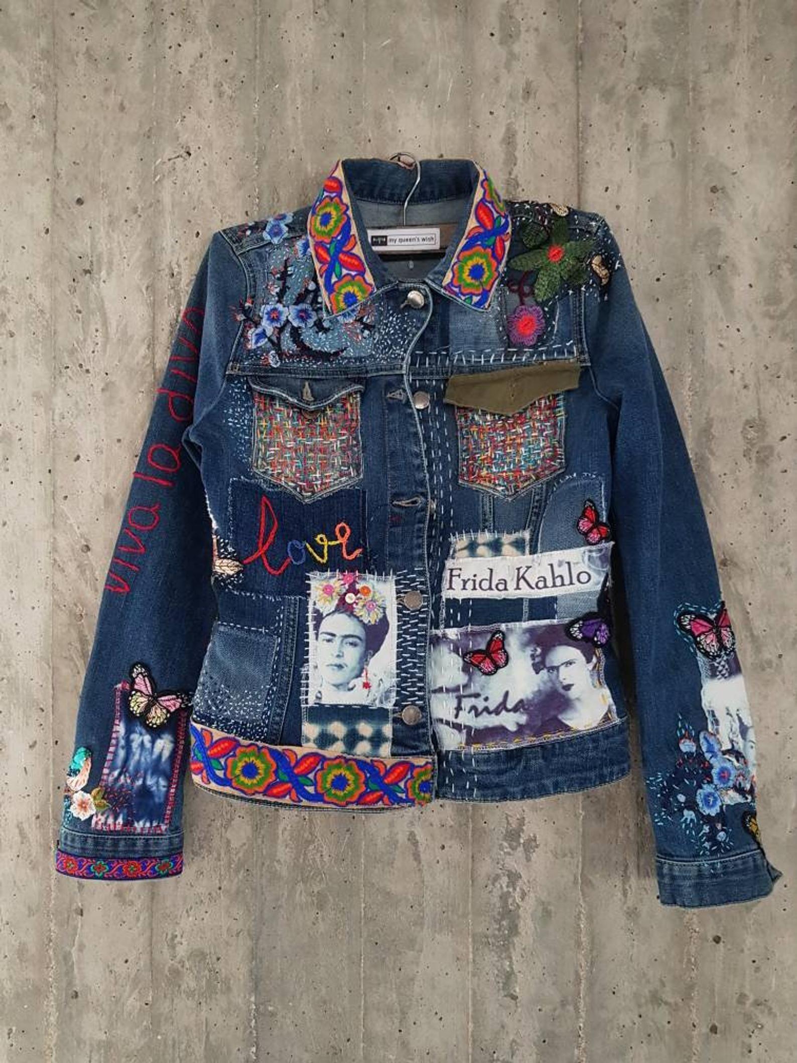 Damaged Vintage Levi's Denim Jacket/Jean Jacket from 80's ...