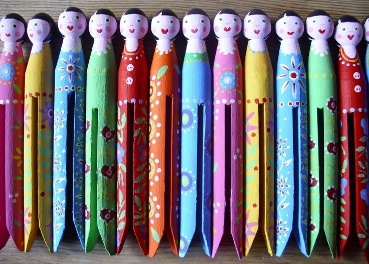 ~*~ Clothes Pin People ~*~