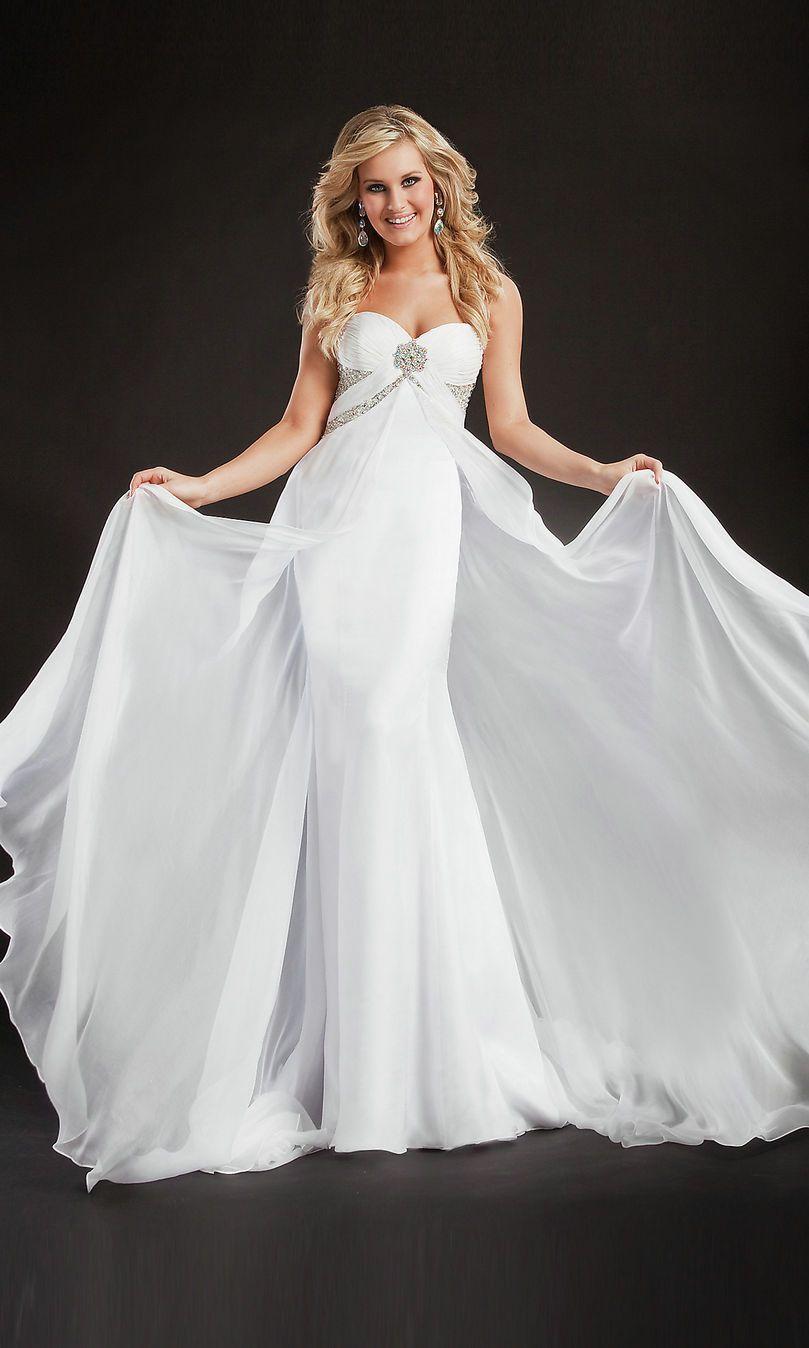 621c96c9ddff White Prom Dress | White Prom Dresses Cheap | Fabulous | Prom ...