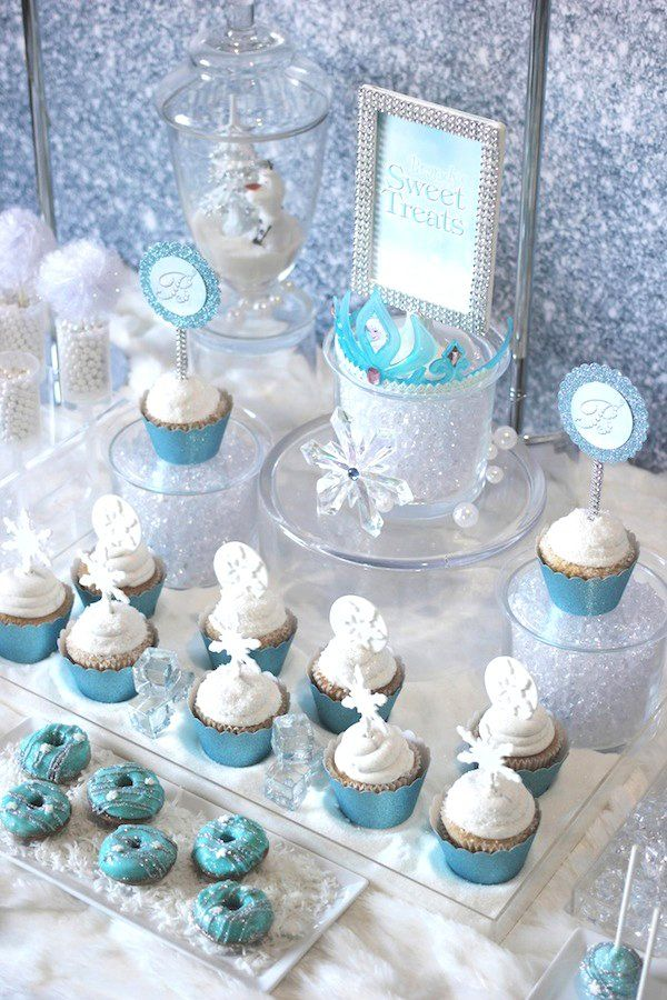 Trend Alert: Frozen Party {Sweets Table | Party sweets, Frozen party ...