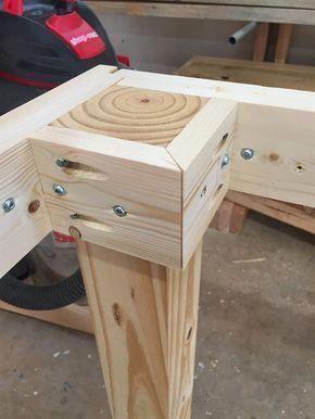brace legs #hightoptablesdiy #WoodworkingPlansBed