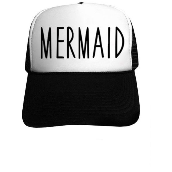 best sneakers 72886 71d2d ... sale mermaid on black and white trucker hat at amazon wu2026 us trailer  can sell 52a8c