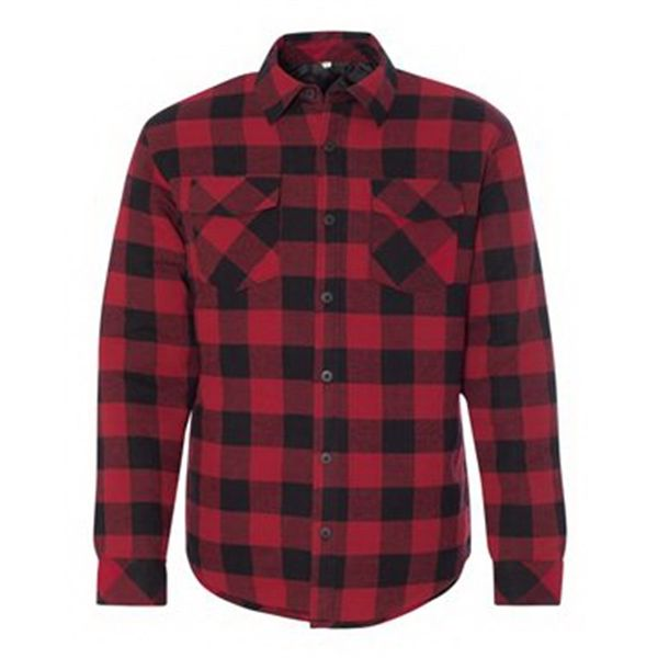 Iron Brand Marketing The Burnside R Quilted Flannel Jacket Was Made For Cool Weather From The Flannel Jacket Quilted Flannel Shirt Online Shopping Clothes