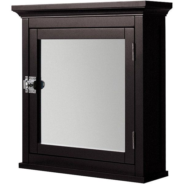 Classique Espresso Medicine Cabinet   Overstock™ Shopping   Great Deals On  Elite Bathroom Cabinets