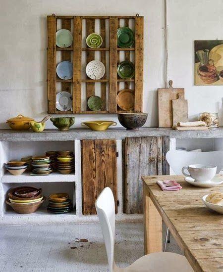 10 muebles hechos con palets para cocinas 4 | cocitas!!! | Pinterest ...