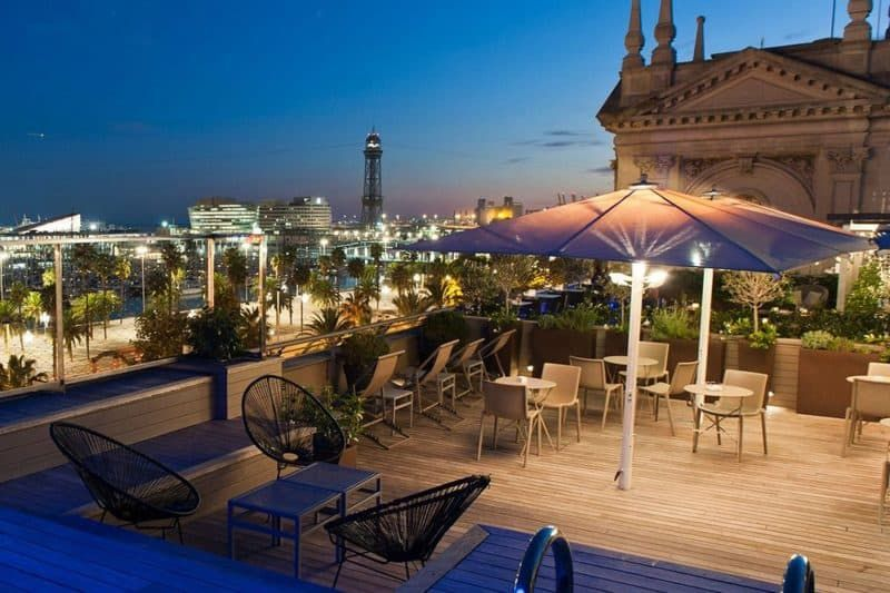 Enjoy The View From Barcelona's Best Rooftop Bars ...