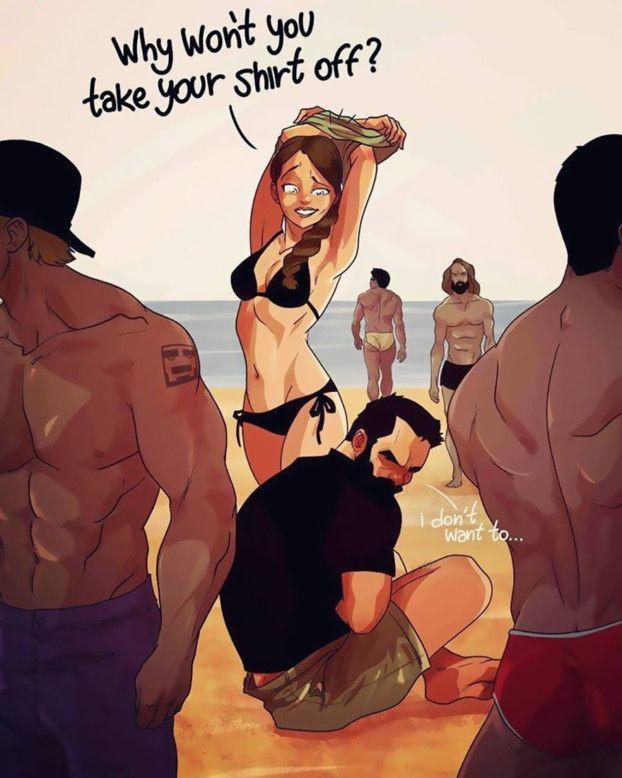 Ein Künstler hält seinen verrückten Alltag mit seiner Frau in diesen Comics fest. LOL! | LikeMag - Social News and Entertainment
