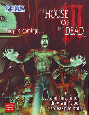 On Sale House Of The Dead Iii 3 By Sega Original Nos Video