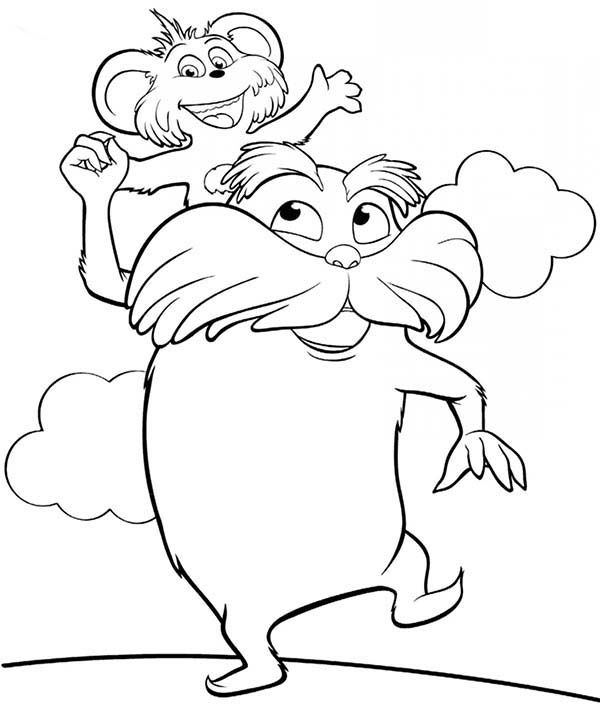 #bears #coloring #lorax #pages #the #2020   Bear coloring ...