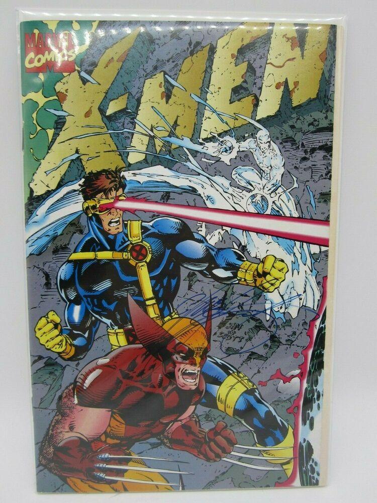 X Men Vol 2 1 1991 Deluxe Cover E Gatefold Wraparound Signed Chris Claremont X Men Comics Marvel Comics