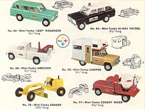 Tonka Trucks Ad, 1960's