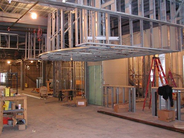 Lower drop ceiling framing with C channels | Architectural ...