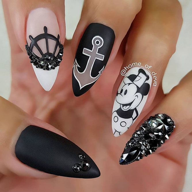 Anchor Nails Looks And Tutorials To Try | NailDesignsJournal.com