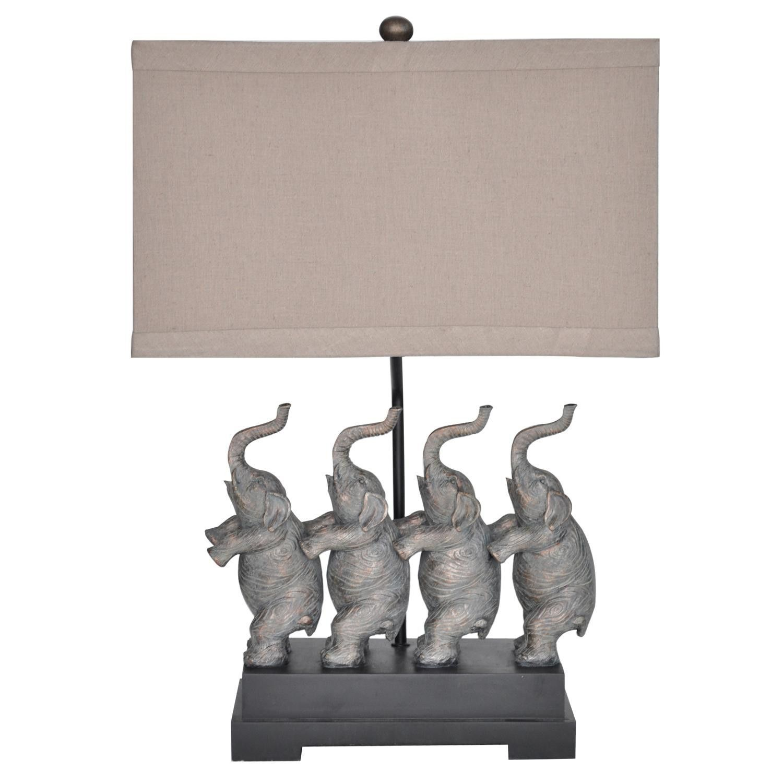Crestview Conga Table Lamp CVAUP905