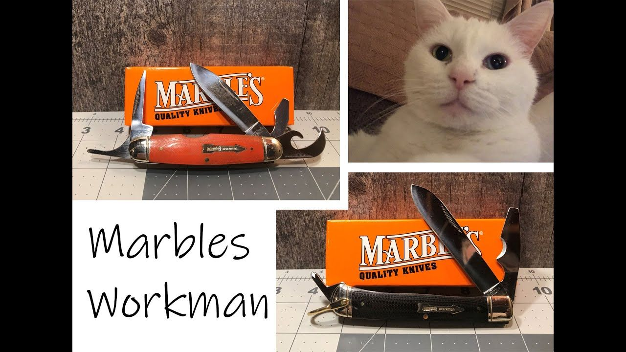 The Marble S Workman Series Knives In 2020 With Images Knife Marble Series
