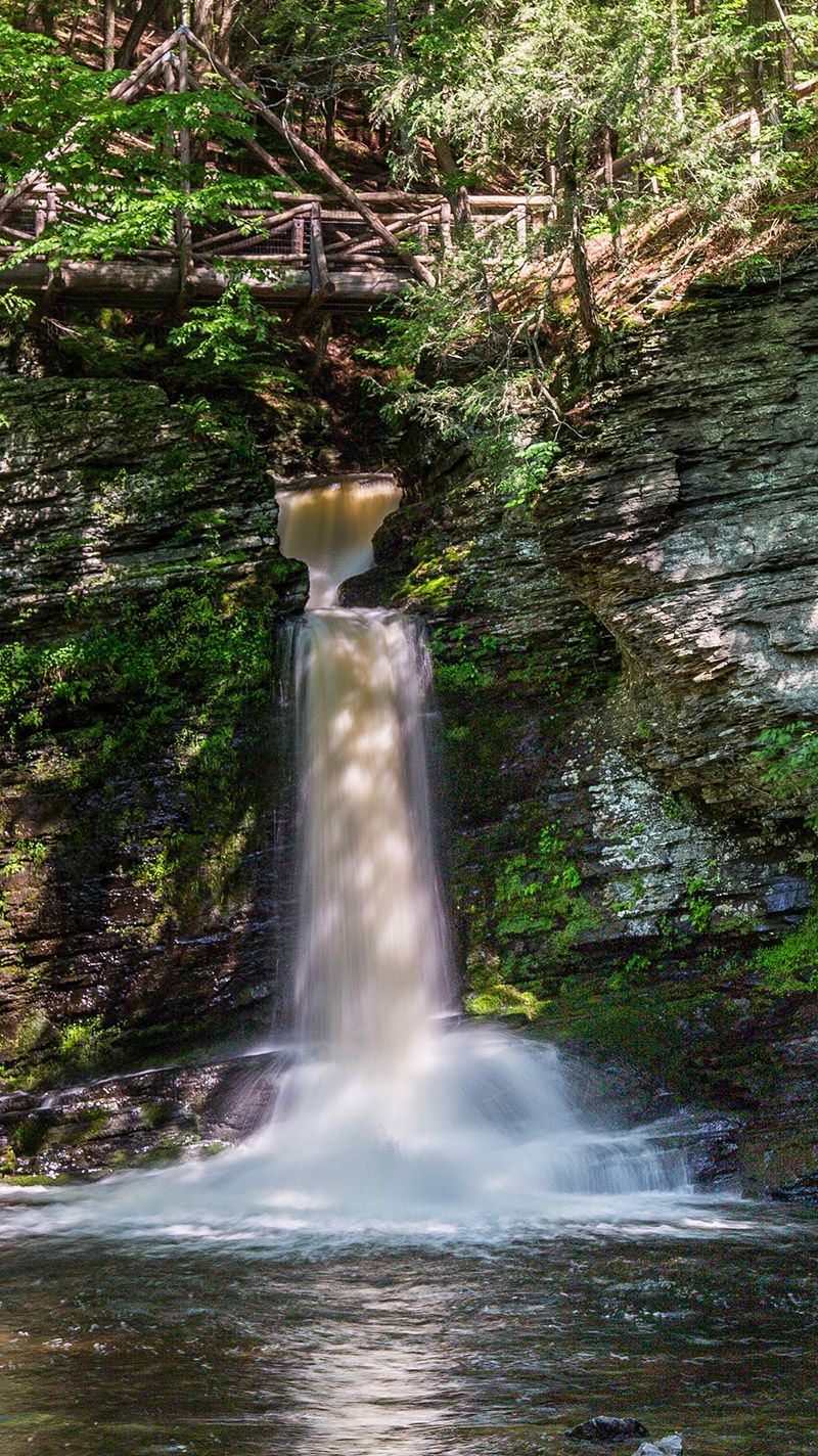 Capturing Waterfalls Delaware Water Gap And Other Examples Delaware Water Gap Delaware Water Gap Hiking Waterfall