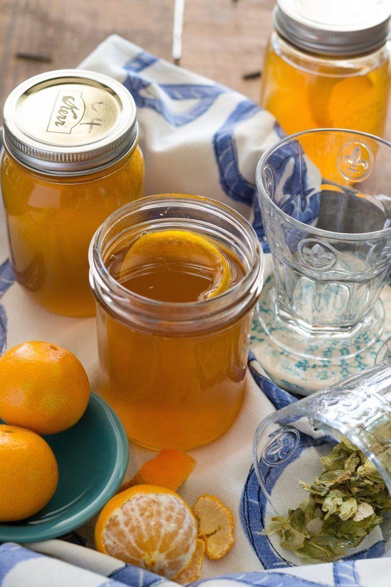 Brew Dr. Copycat Recipe Hops & Citrus Kombucha Citrus