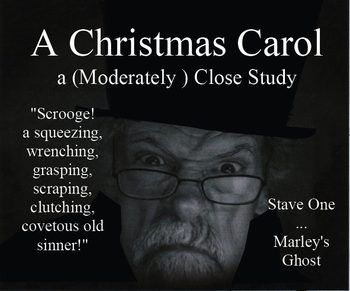 A Christmas Carol Stave One: A Close Reading Study (10 pages), Answer Keys   Teaching ideas ...