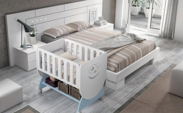Para dormir con papá y mamá :) #cunas #bebé #muebles #Smile ...