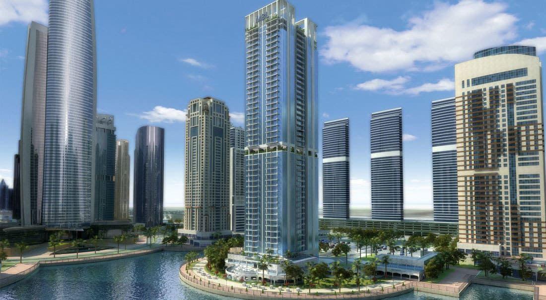 مساكن إم بي إل في أبراج بحيرات جميرا 10 فقط دفعة أولى ودفع الباقي على 3 أو 5 سنوات بعد التسليم Dubai Houses Tokyo Architecture Property