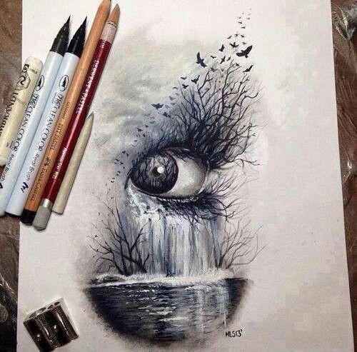 Drawing art eyes hipster vintage boho indie personal for Tumblr drawings of eyes
