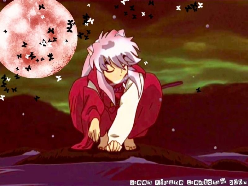 Inuyasha S Red Moon Anime Red Moon Inuyasha Anime wallpaper red moon