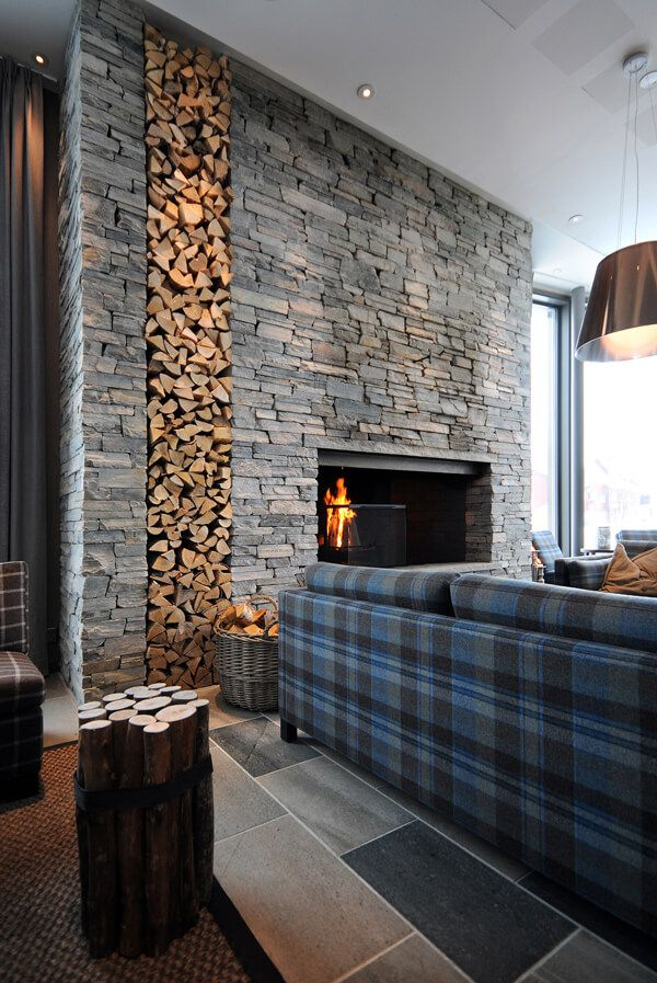 33 Elegant interior stone wall ideas for a serious design upgrade