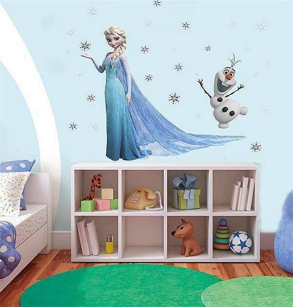 Great Frozen Queen Elsa Wall Sticker Decal
