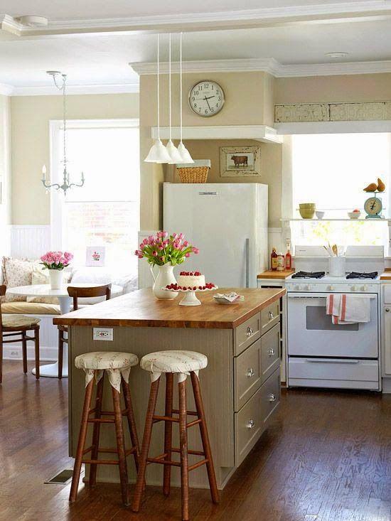 las islas de cocina vintage que te encantara tener en tu casa