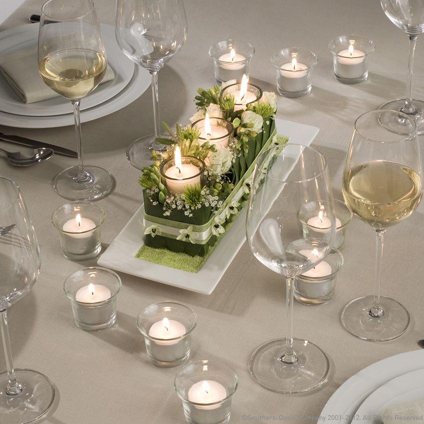 Tischdeko Hochzeit  Blumendeko  Tischdeko hochzeit
